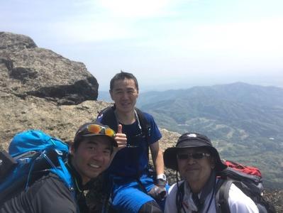 筑波山2017登頂