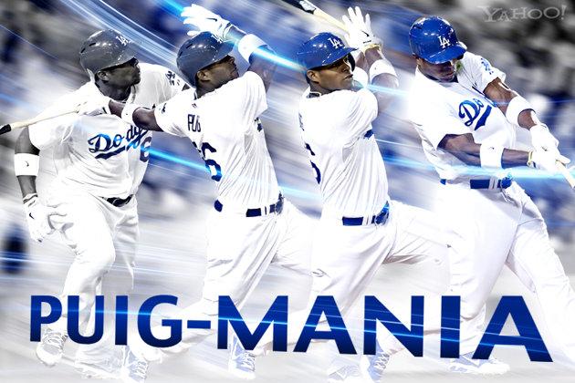 MLB NEWS : ヤシエル・プイグ(23 ...