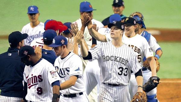 日米野球 MLB