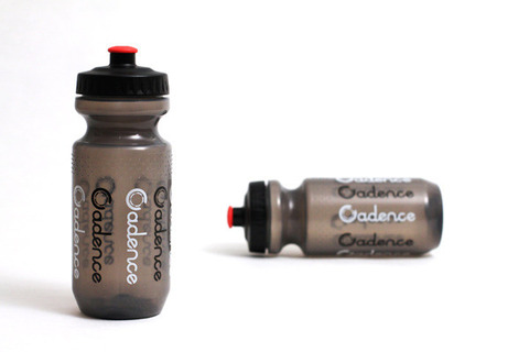 Logo Repeat Water Bottle Smoke