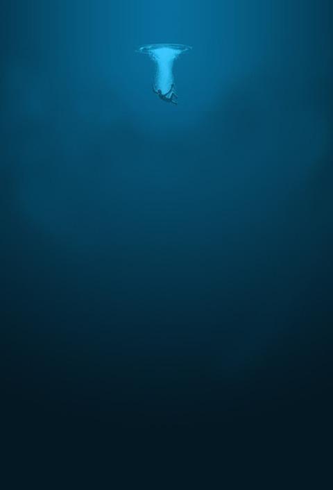 海中へ退避