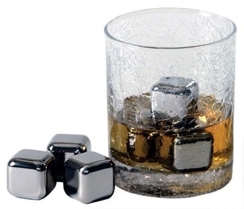 ステンレススチール アイスキューブ (永久氷)