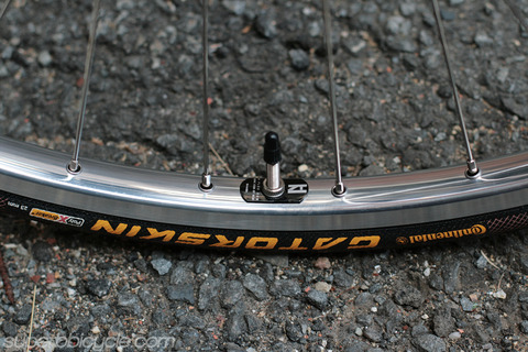 09-H+Son TB14 rims & Continental Gatorskin Tires