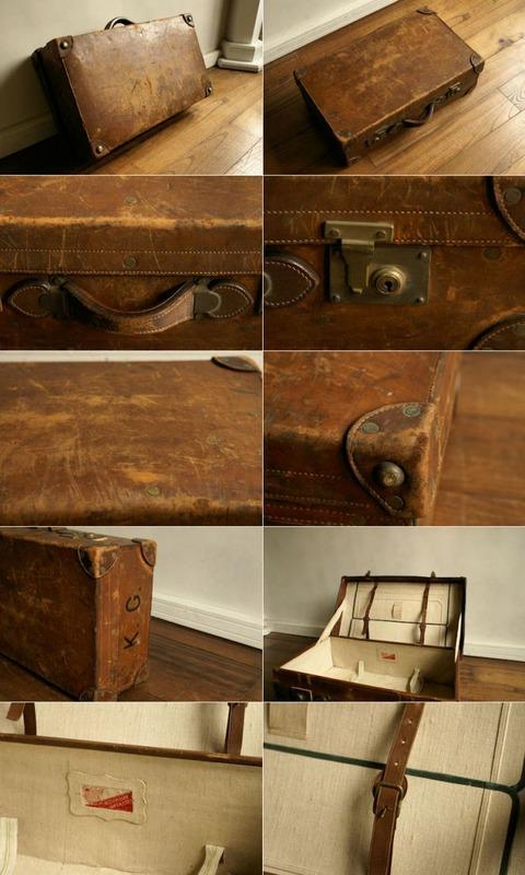 古い革の鞄