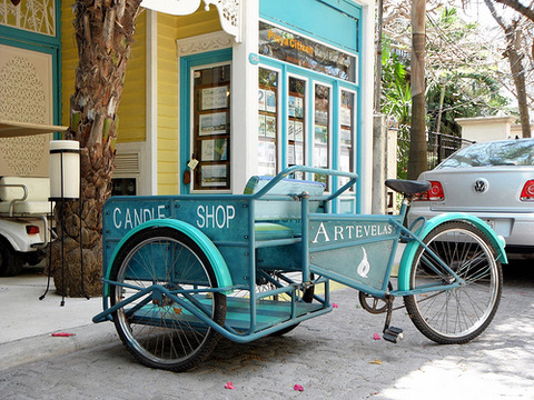 Candle Shop Cargo Bike
