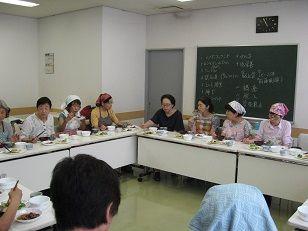 市民活動支援講座「若さのヒケツは食生活にあり」