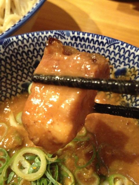 濃厚海老味噌つけ麺_島田製麺食堂
