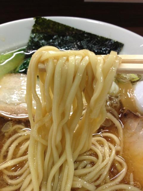 一刀流らーめん_麺