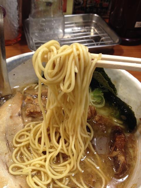 らぁーめん夢屋台_バリカタ麺