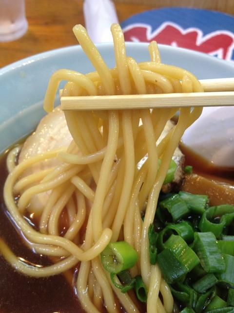 鴫野食堂_太麺