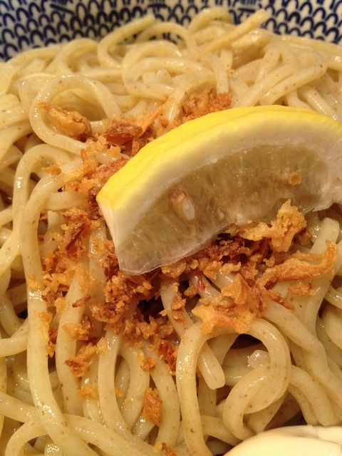 濃厚海老味噌つけ麺_画像