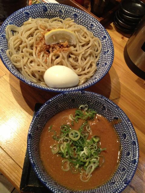必死のパッチ製麺所_濃厚海老味噌つけ麺