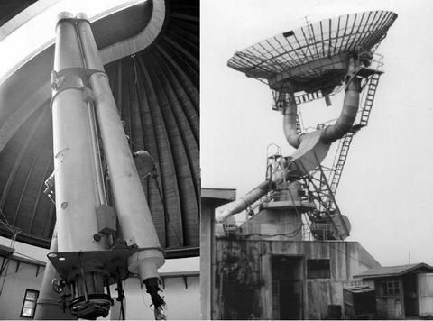 old telescopes