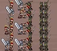 ゲームBattleCry 兵士ユニットを編成してバトルゲーム