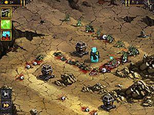ゲームFallen Empire 塔を建ててモンスターを撃滅する防衛ゲーム