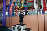 オリンピック表彰台