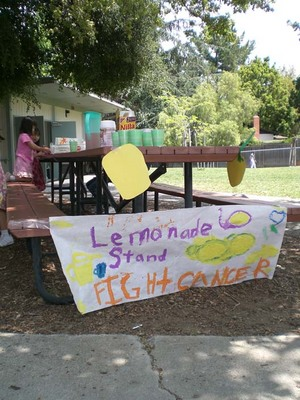 lemonade stand - booth