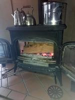 暖炉りんご薪2