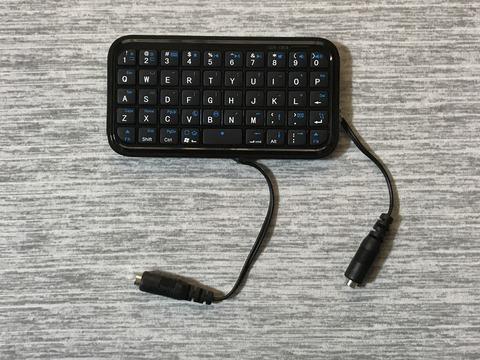 Bluetoothキーボードを改造したインターフェイス