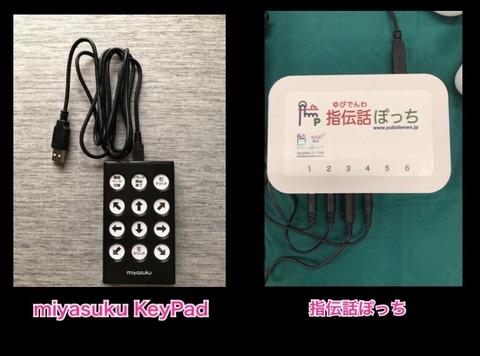 miyasuku KeyPadと指伝話ぽっち