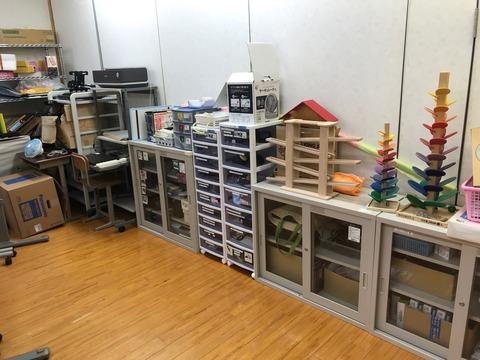 希望の家分校にあるAT教材室