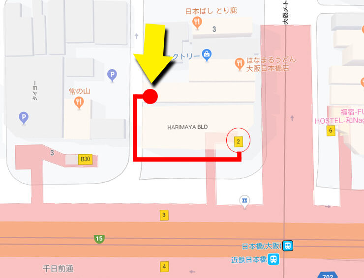 JKコレクション店舗地図