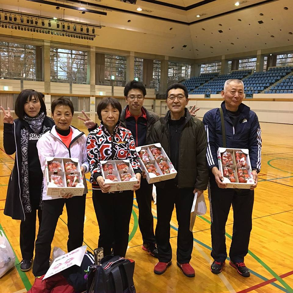 第5回とちおとめバウンドテニス親善交流大会の結果
