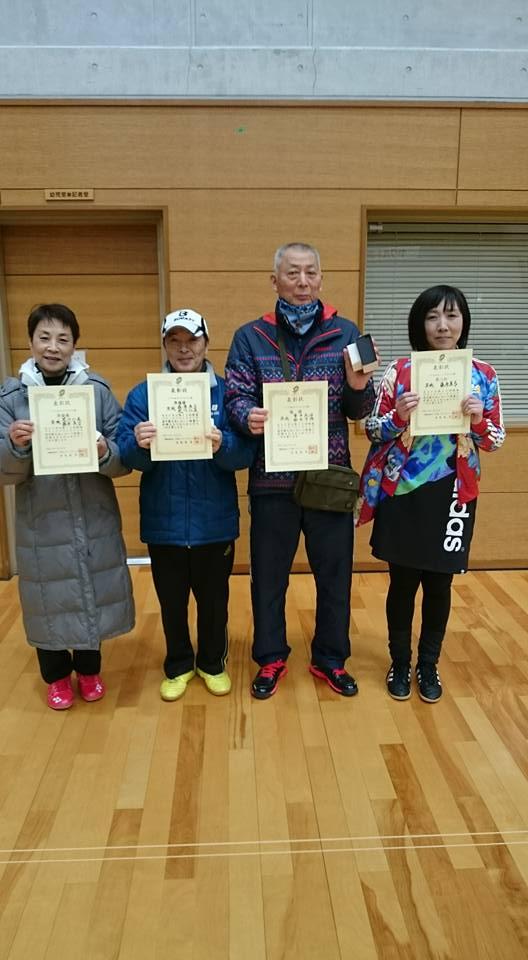 第13回関東ブロックバウンドテニス選手権大会の結果