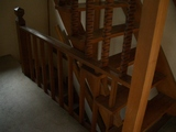 階段手摺リフォーム前1