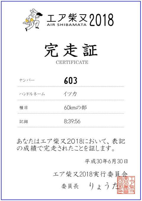 エア柴又完走証_603イツカ