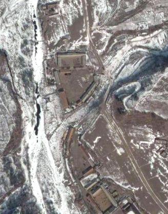 北朝鮮核実験場周辺