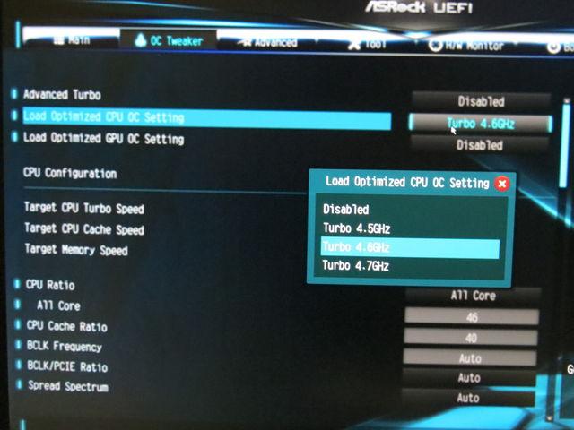 ARROWSがやってきた! : i7-4790Kを4 6GHzにオーバークロックしてみた!