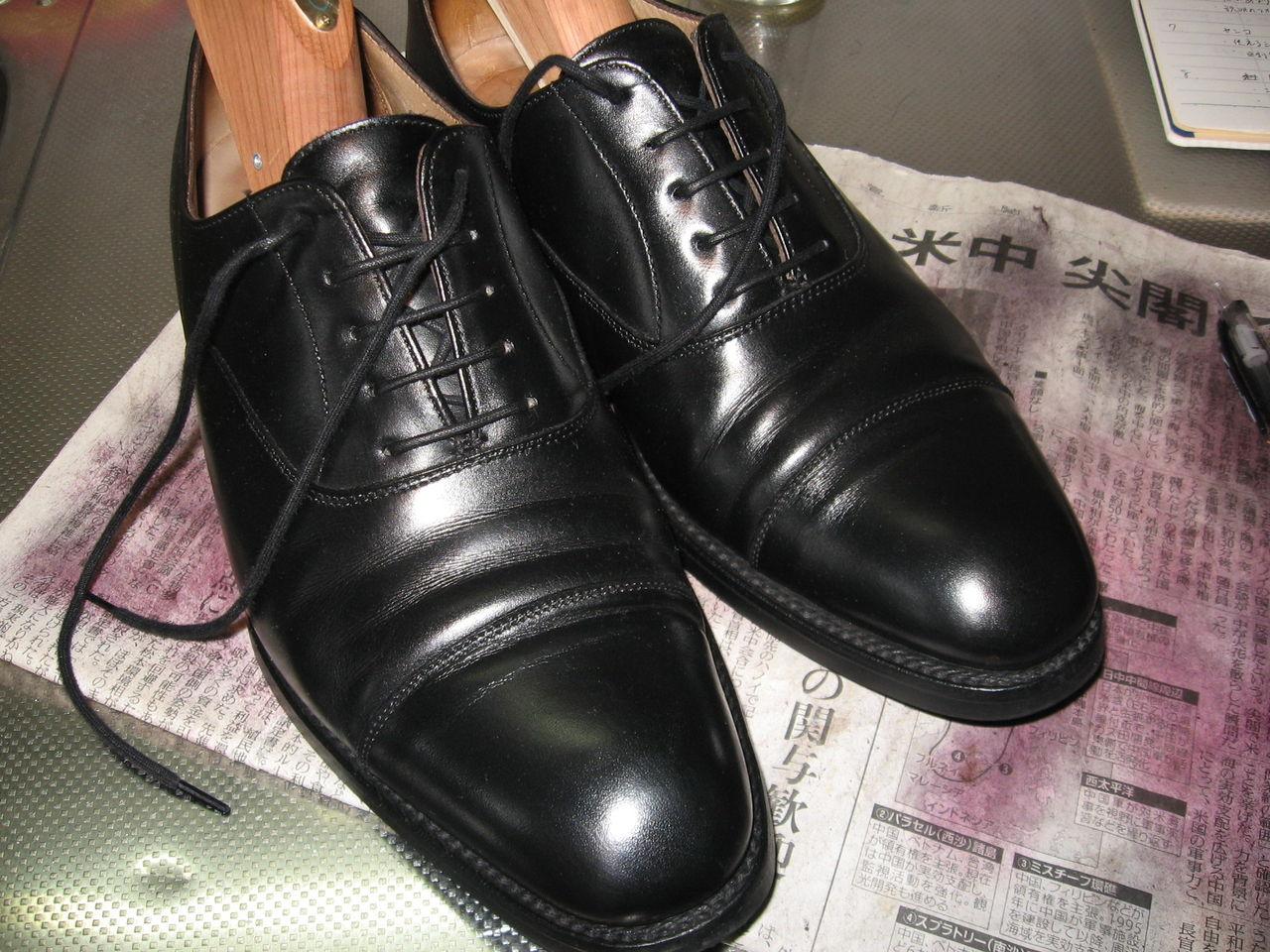 革靴が足に馴染むまでの期間は?革靴の ...