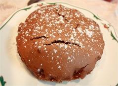チョコレートケーキ完成!