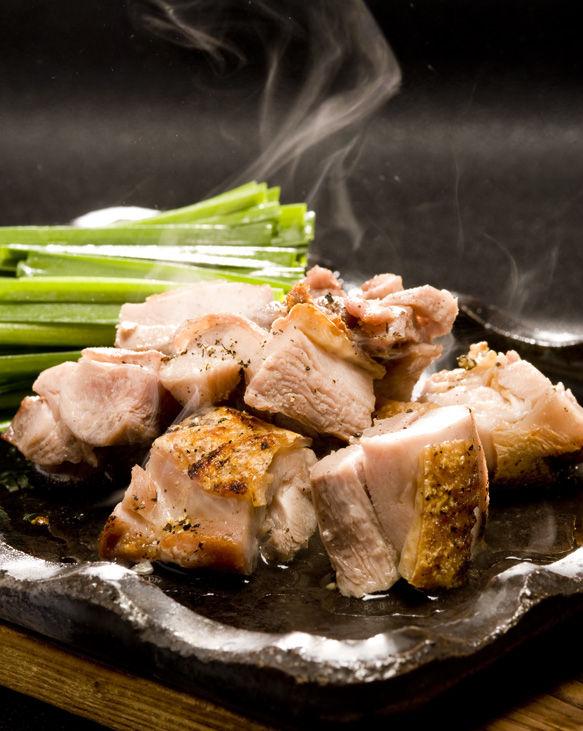 薩摩地鶏の炭火焼
