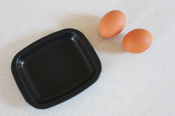 20210609_オーブントースタープレート with eggs