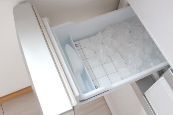20200706_3_ 100均_セリア_冷蔵庫製氷機の音対策