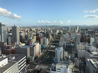 テレビ塔ダイブ&ひげ (7)