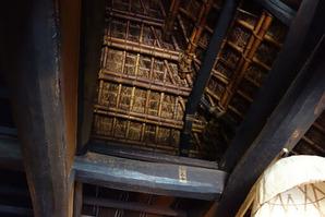 囲炉裏の天井
