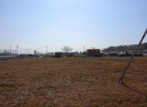 道の駅いちかわ建設予定地2017年2月