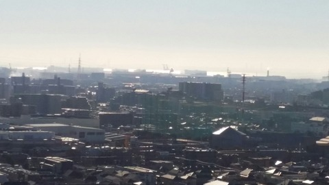 船橋市のスクラップ火災