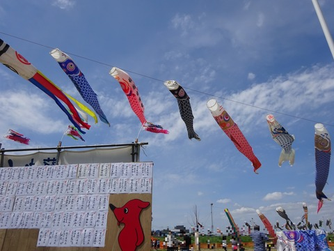 第27回国分川鯉のぼりフェスティバル