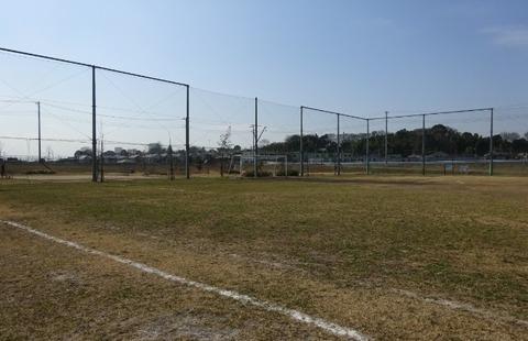 国分川調整池緑地の多目的広場