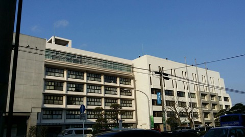 市川市役所本庁舎