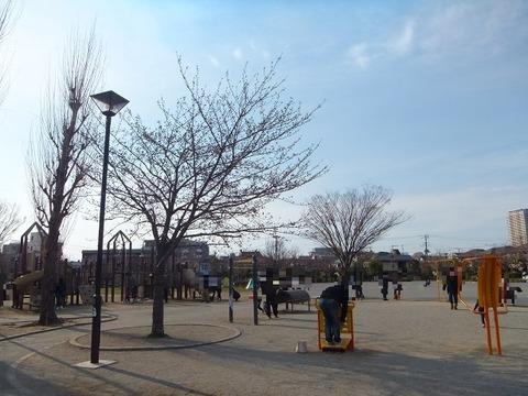 大洲防災公園広場