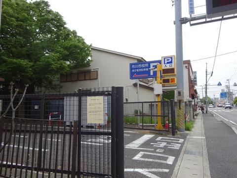 市川市役所本庁舎第3駐車場