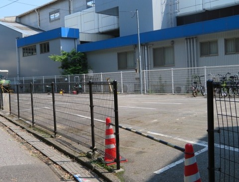 市川大野駅駐輪場閉鎖