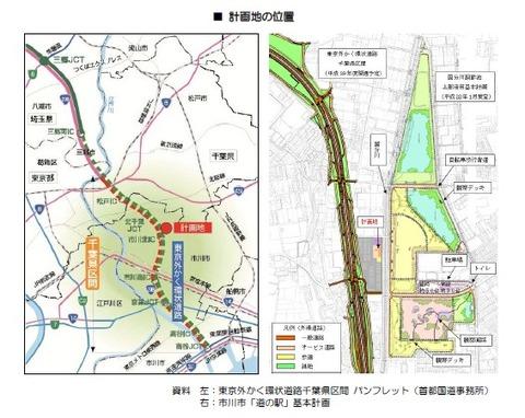 道の駅いちかわ建設予定地