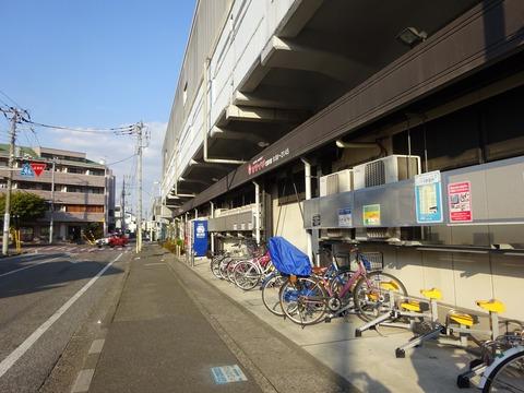 クリーンスパ市川無料送迎バス停(原木中山駅)