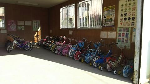 児童公園の自転車/市川市東菅野